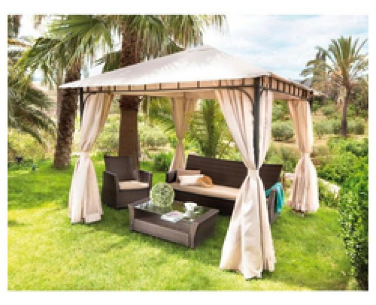 Beautiful comment couvrir une pergola pictures design - Pergolas carrefour 2017 ...