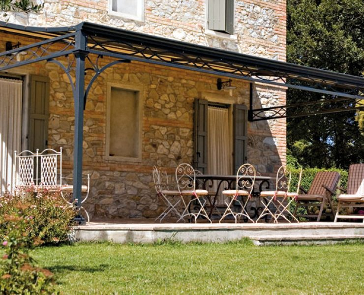 Canisse pergola excellent toldo vertical leroy merlin good