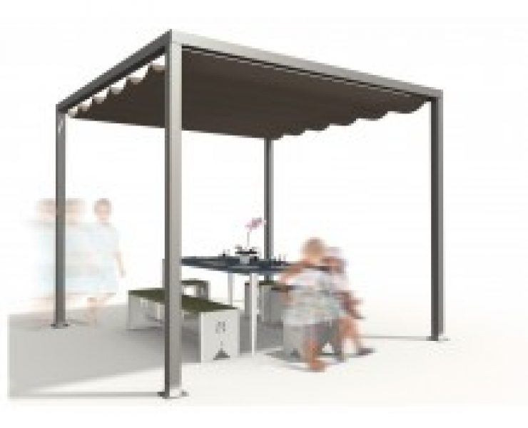 camping pergola. Black Bedroom Furniture Sets. Home Design Ideas