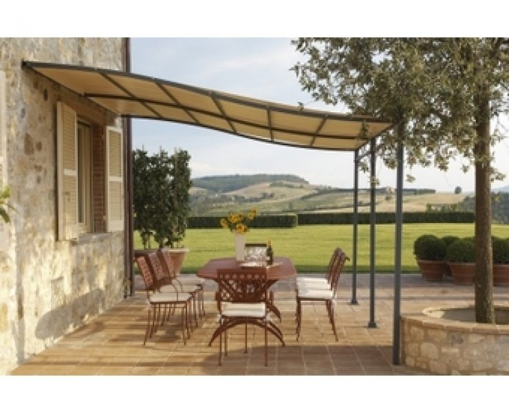 brico pergola pergola brisesoleil grise rideau cru x m brico priv with brico pergola lambris. Black Bedroom Furniture Sets. Home Design Ideas