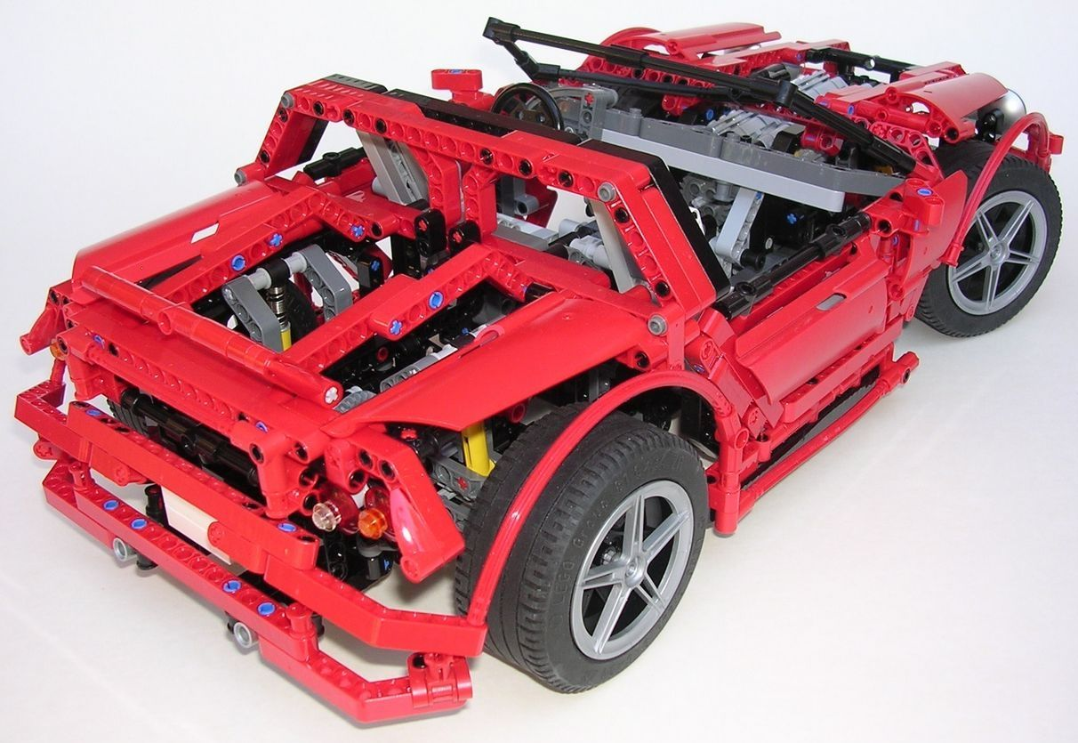 comment construire une voiture en lego. Black Bedroom Furniture Sets. Home Design Ideas